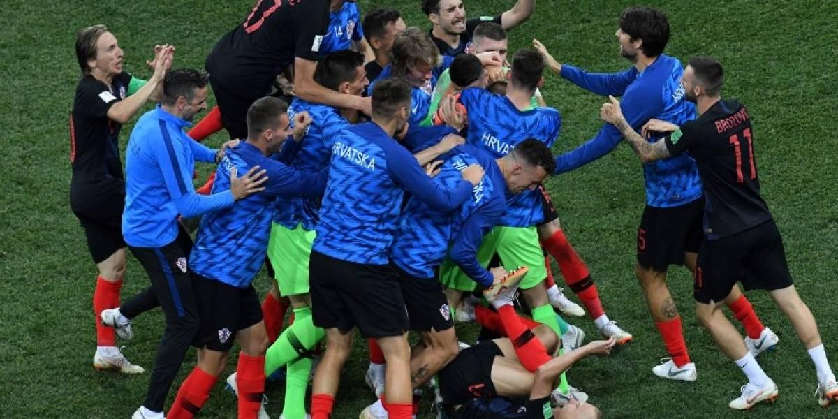 Las heroicas atajadas de Schmeichel no evitaron la dramática clasificación de Croacia