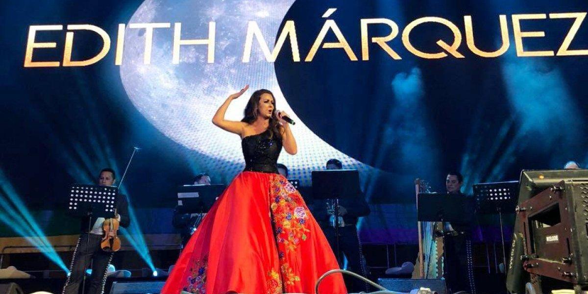 Así fue el concierto de Edith Márquez en Rusia