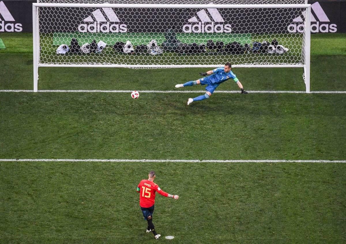 El juego España vs Rusia se definió por penaltis