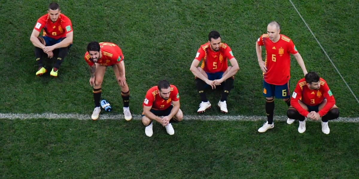 Primer juego que se va a los penaltis y mantiene la maldición de España en los Mundiales