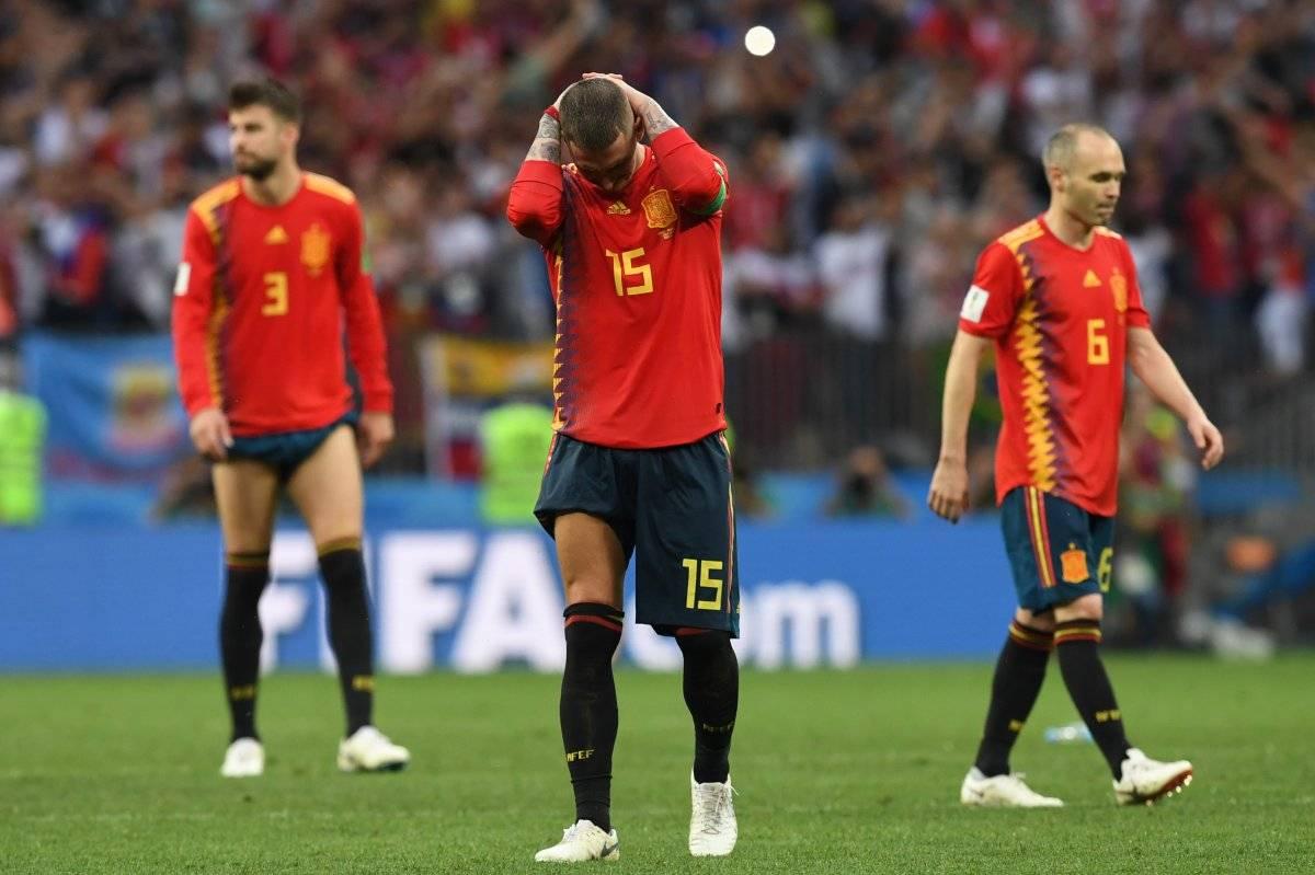España fue eliminada ante la anfitriona