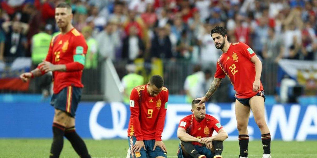 Rusia elimina a la favorita España y avanza a cuartos de final del Mundial