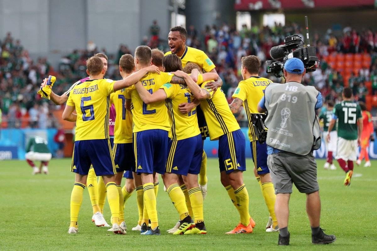 Suecia no se cansa de los festejos / imagen: Getty Images