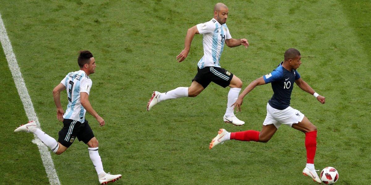El pique de Mbappé a la velocidad de Bolt que dejó locos a los argentinos en Rusia 2018
