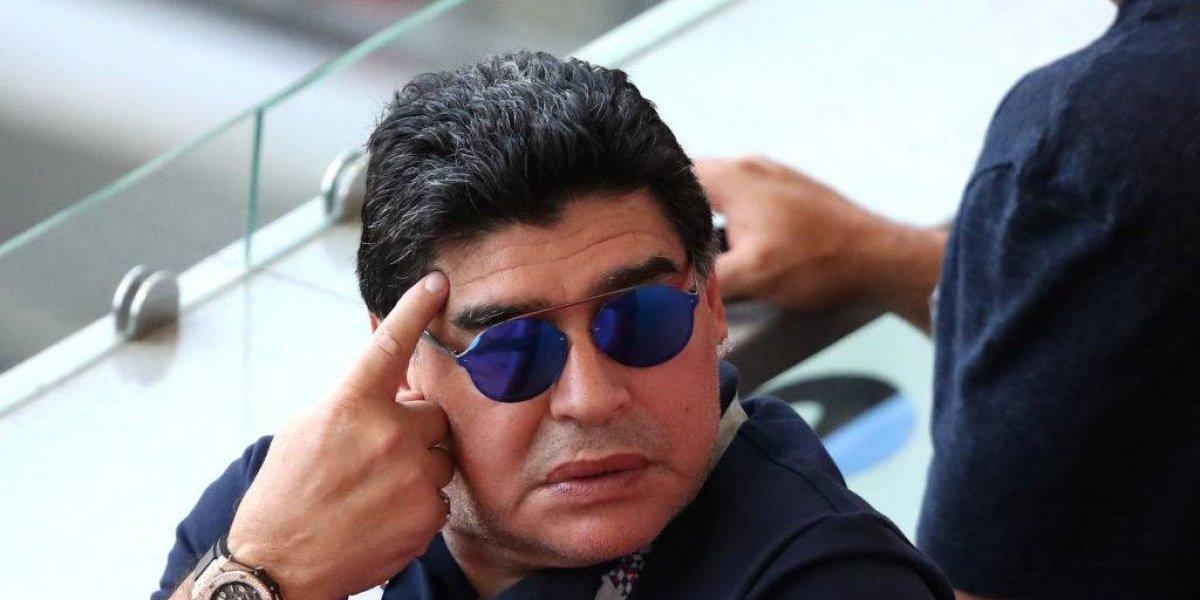 """El crudo análisis de Maradona por la eliminación de Argentina: """"Después de Messi somos un equipito más"""""""