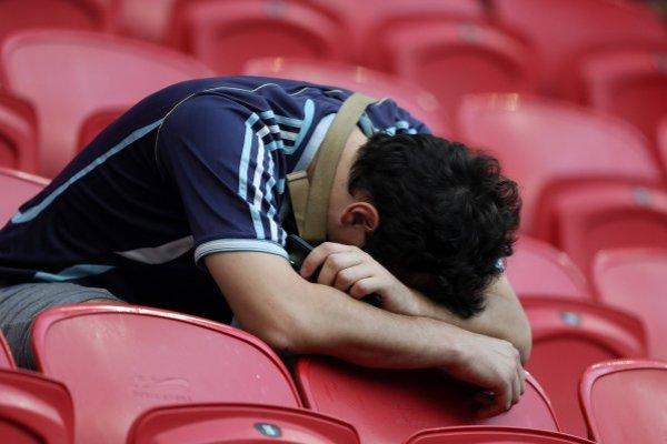Los argentinos no aguantan más fracasos / imagen: Getty Images