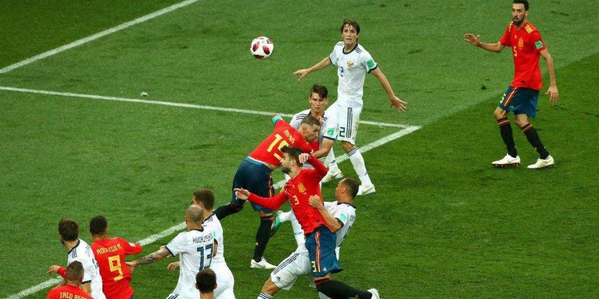 El polémico penal no cobrado a Sergio Ramos que España lamenta tras su eliminación de Rusia 2018