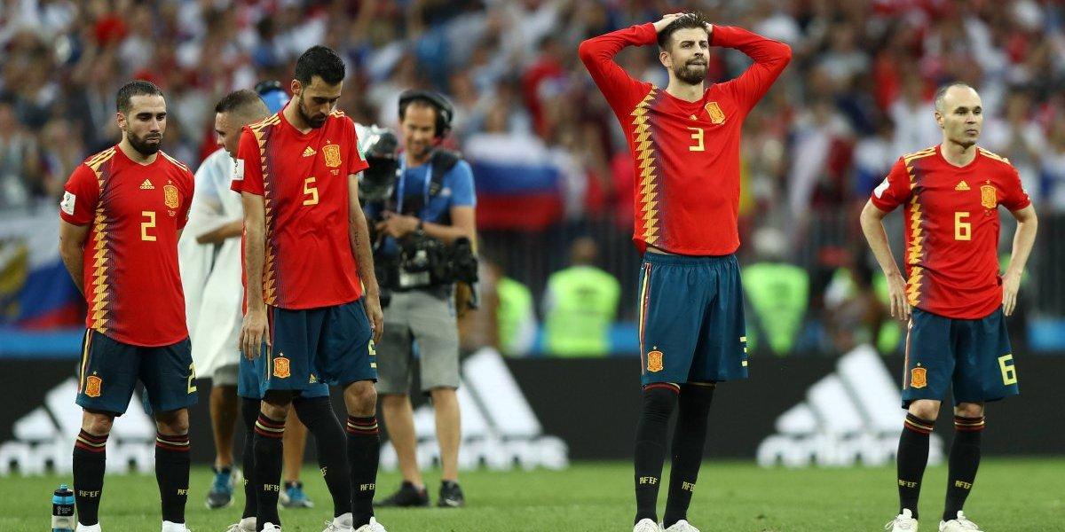 El juego lleno de pases no le sirvió a España y Rusia los eliminó en penales del Mundial