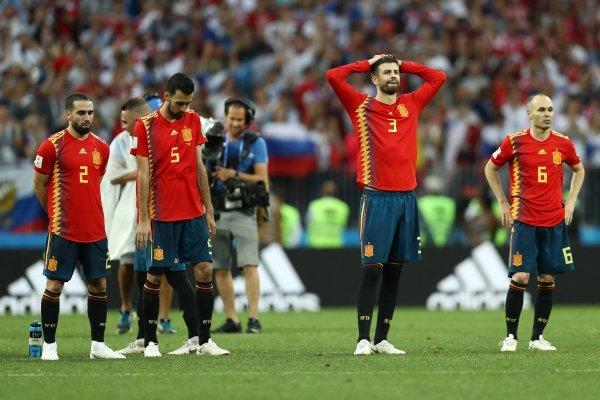 España sufrió con Rusia / imagen: Getty Images