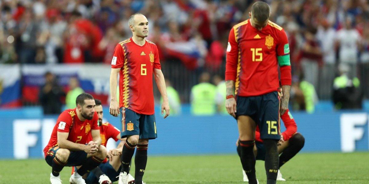 Amarga despedida, Iniesta se retira de la selección