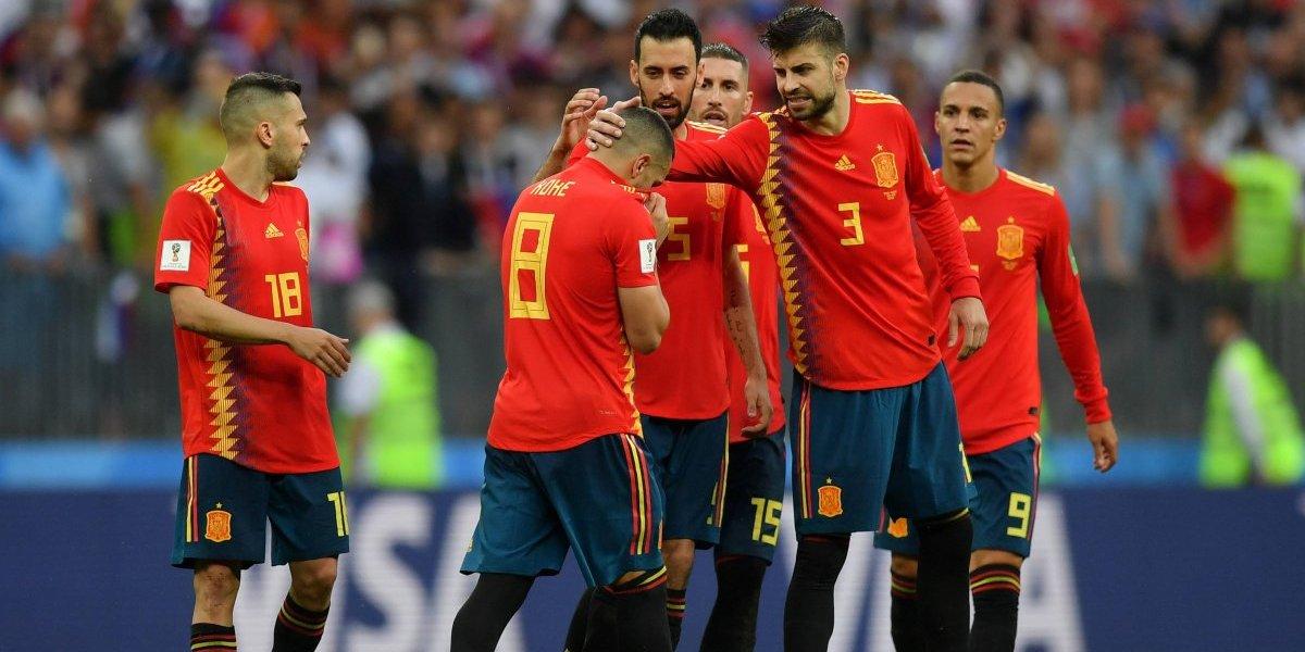 El inútil récord de pases que sumó España en Rusia 2018