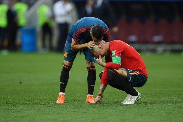 España llora / imagen: Getty Images