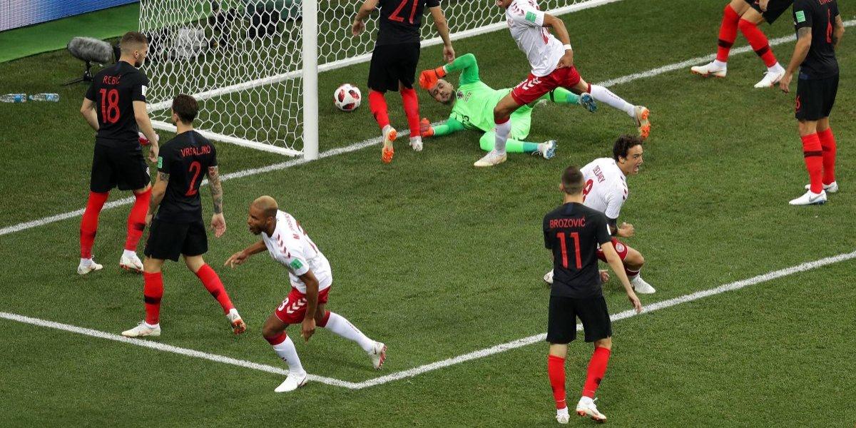 VIDEO: Dinamarca anota el gol más rápido de Rusia 2018