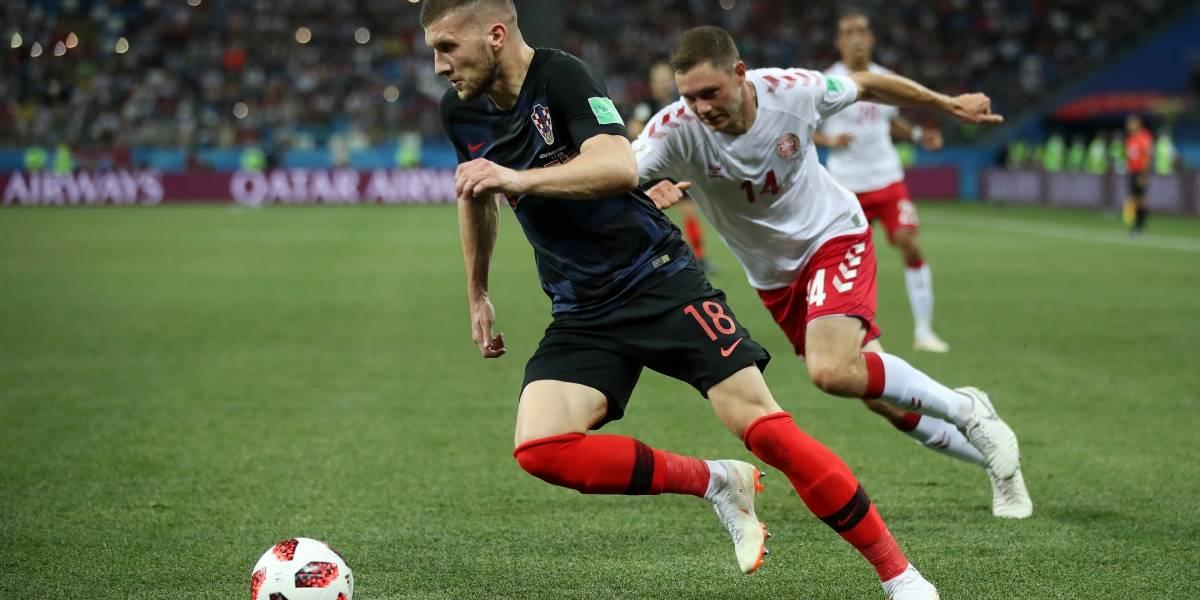 Croacia elimina a Dinamarca en tanda de penales