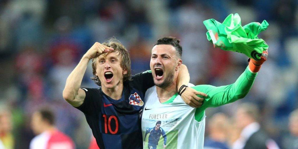 Subasic se vistió de héroe en Croacia para salvar de una jornada negra a Luka Modric