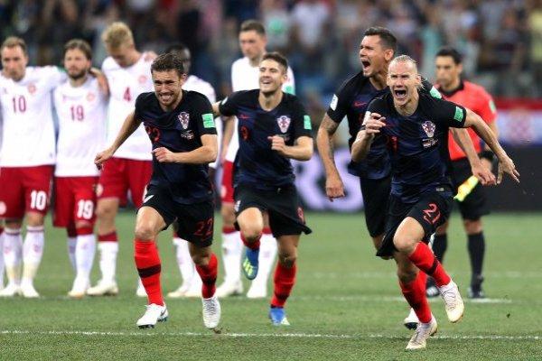 Croacia celebró después de un partido abúlico / imagen: Getty Images