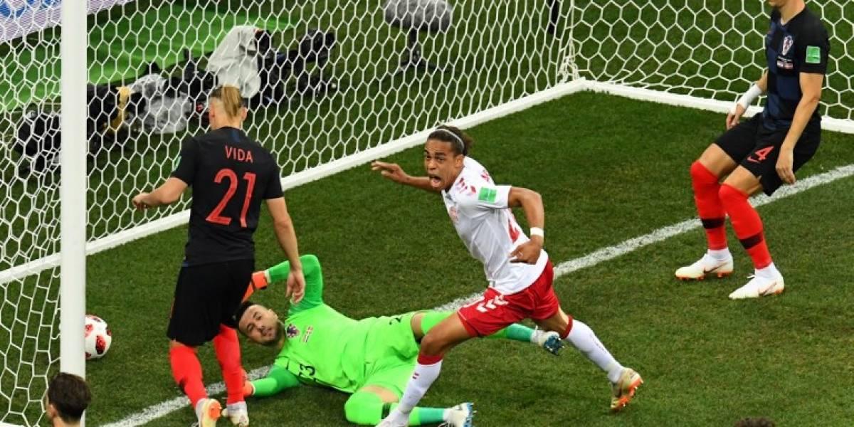Un nuevo récord en el Mundial se da en el juego entre Croacia y Dinamarca