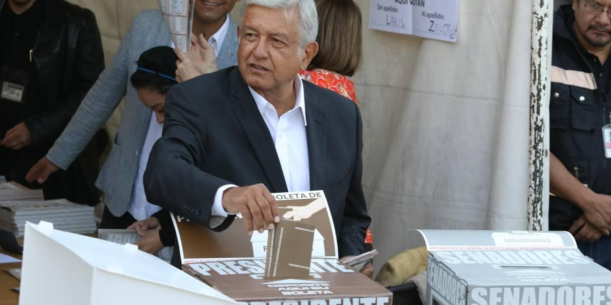 Armará AMLO festejo en el Zócalo en caso de ganar