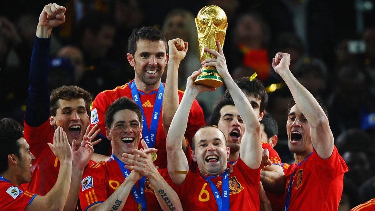 Iniesta le dio el título Mundial a España en 2010