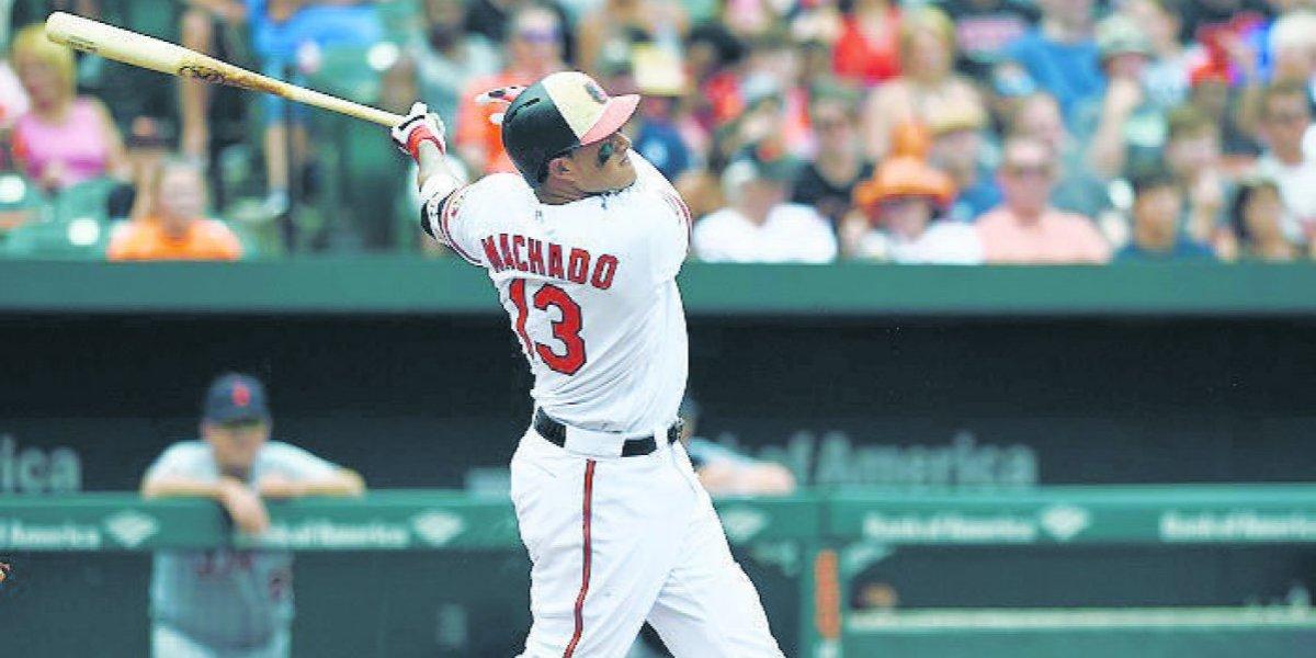 Manny Machado y sus palos perdidos con los Orioles