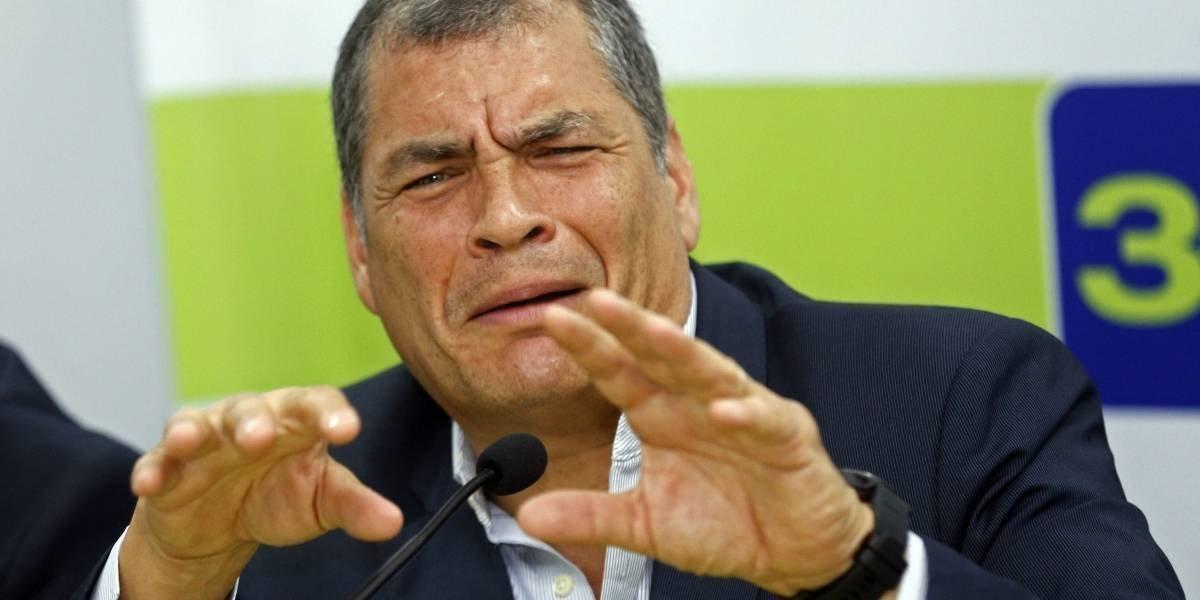 """Rafael Correa: """"Están mutilando mis declaraciones, con la prensa de siempre"""""""