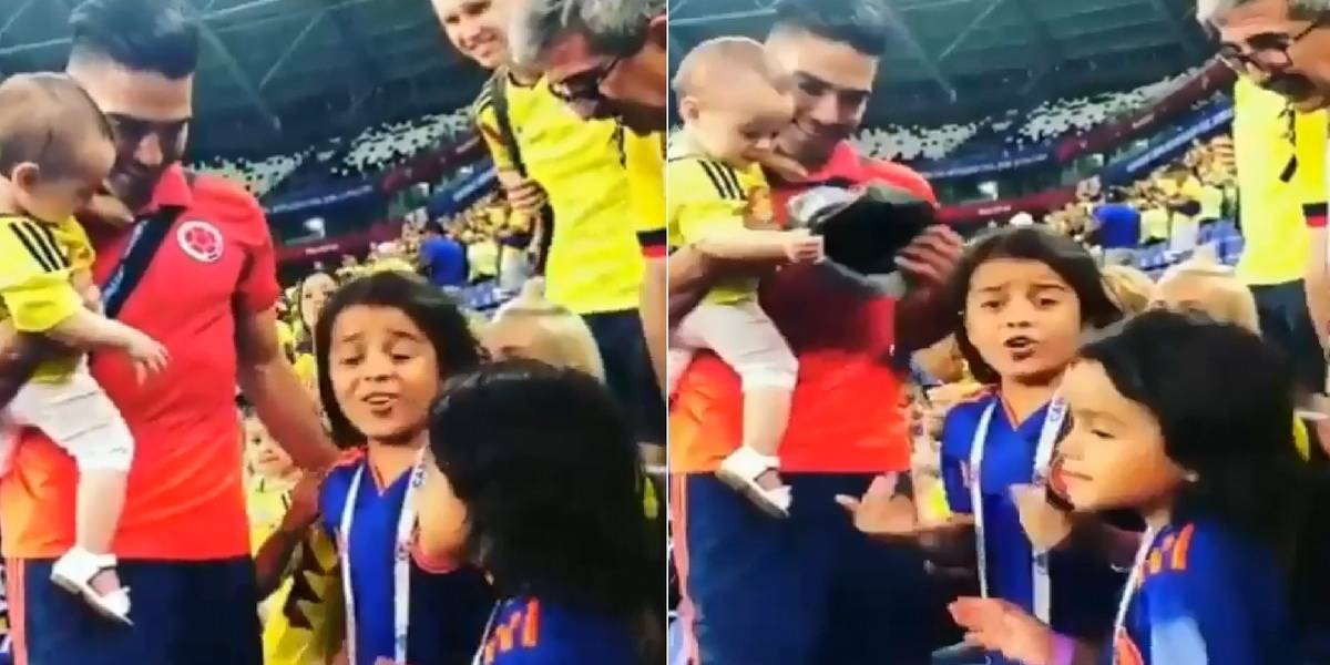 Video: niño le dedicó una trova a Falcao tras la victoria ante Senegal