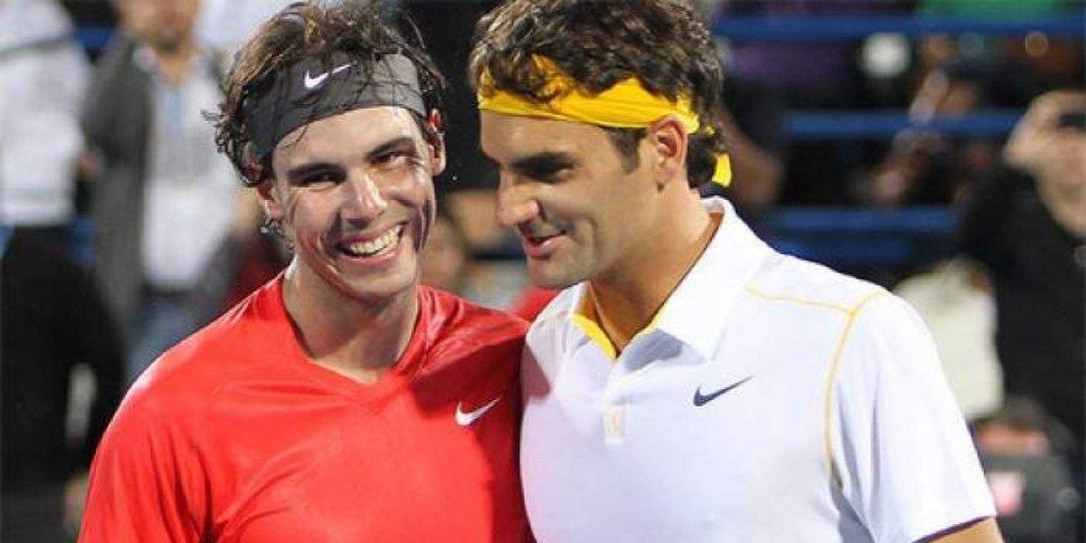 """Roger Federer: """"Rafa y yo somos como Messi y Cristiano"""""""