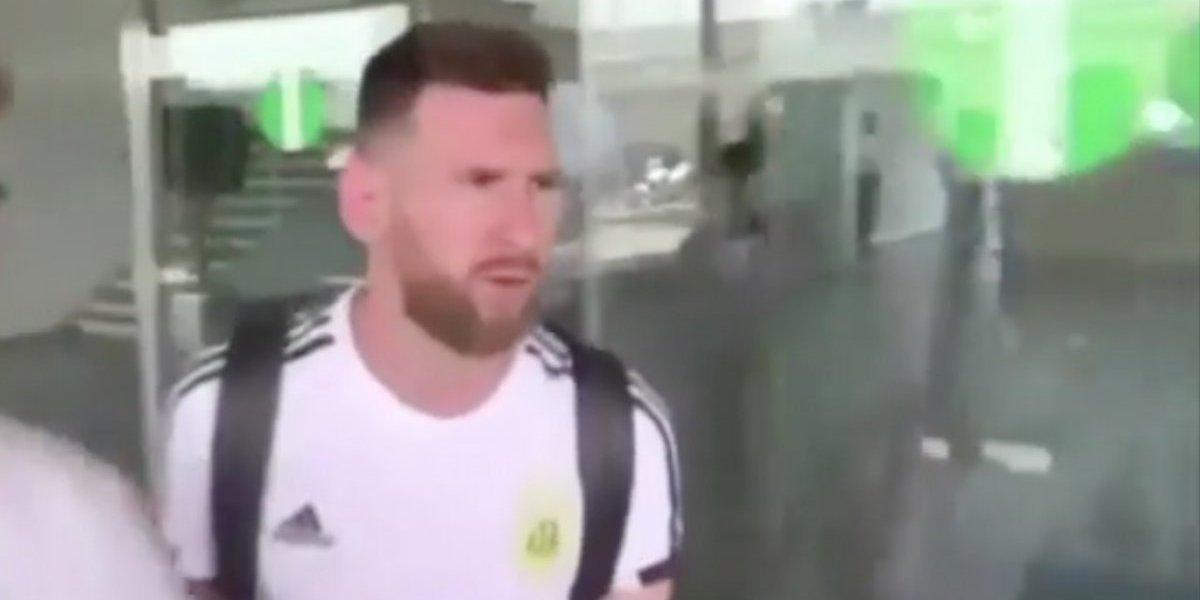 VIDEO: Así llegó Messi a Barcelona tras ser eliminado de Rusia 2018