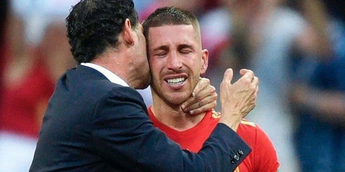 VIDEO: Sergio Ramos rompe el llanto tras ser eliminado de Rusia 2018