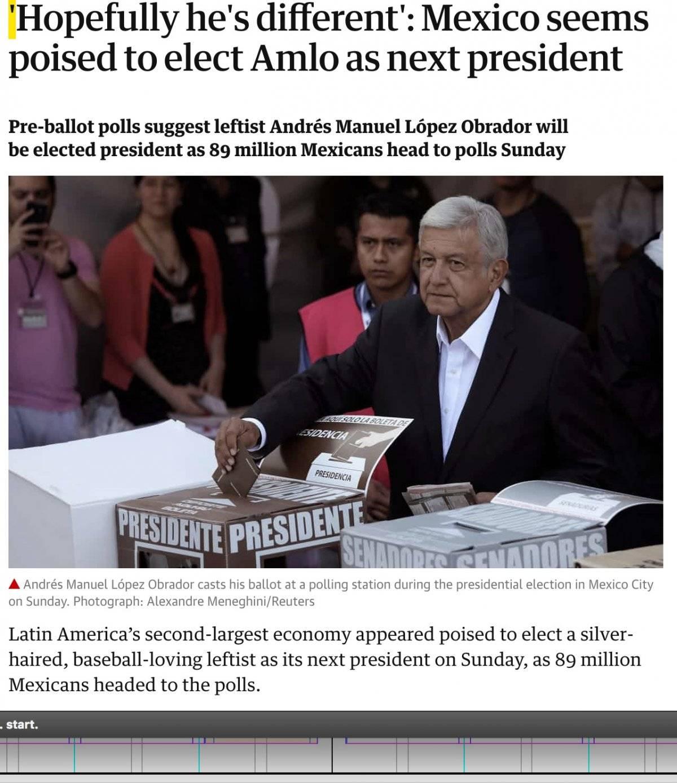 Los medios coinciden en dar a AMLO como vencedor. Especial