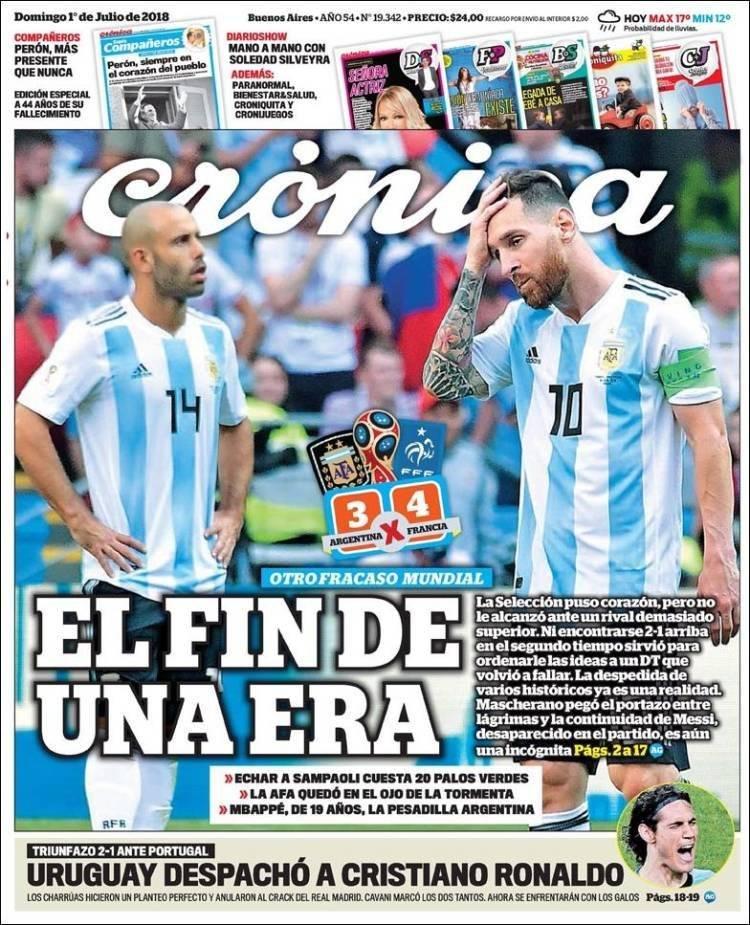 Las tapas de Argentina