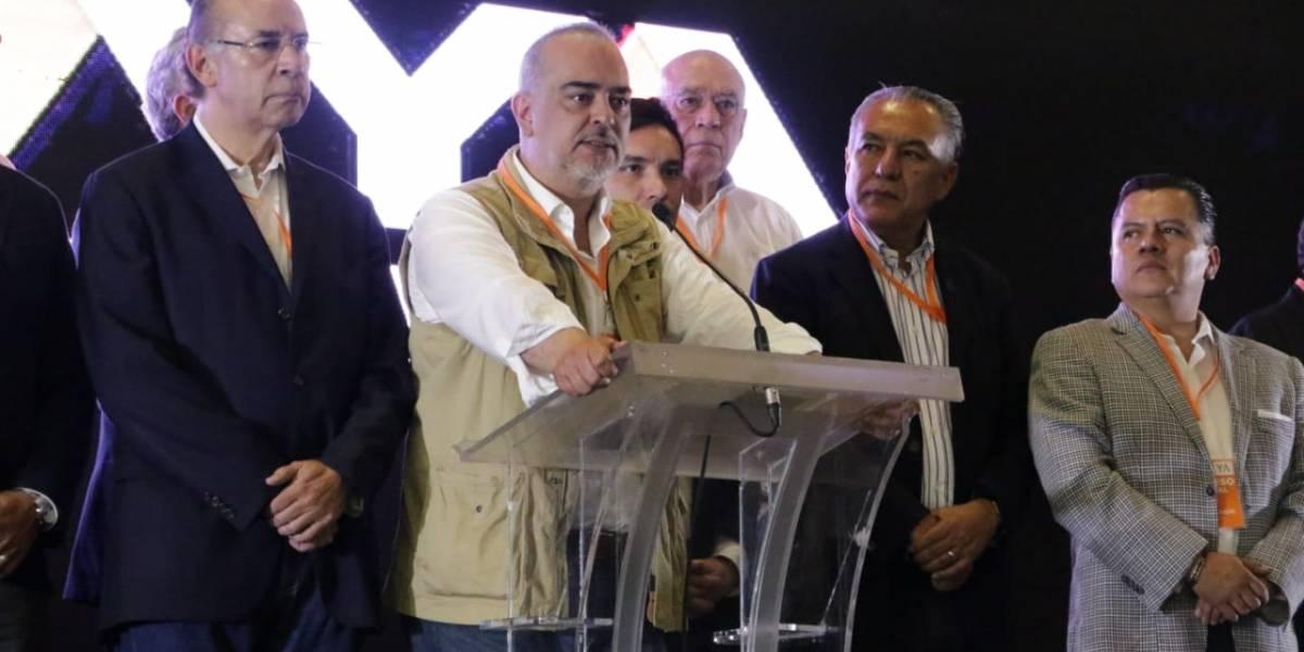 """Coalición """"Por México al Frente"""" llama a la ciudadanía  a salir a votar en paz y libertad"""