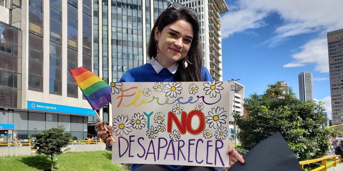 Así avanza la marcha del Día del Orgullo LGBT en Bogotá