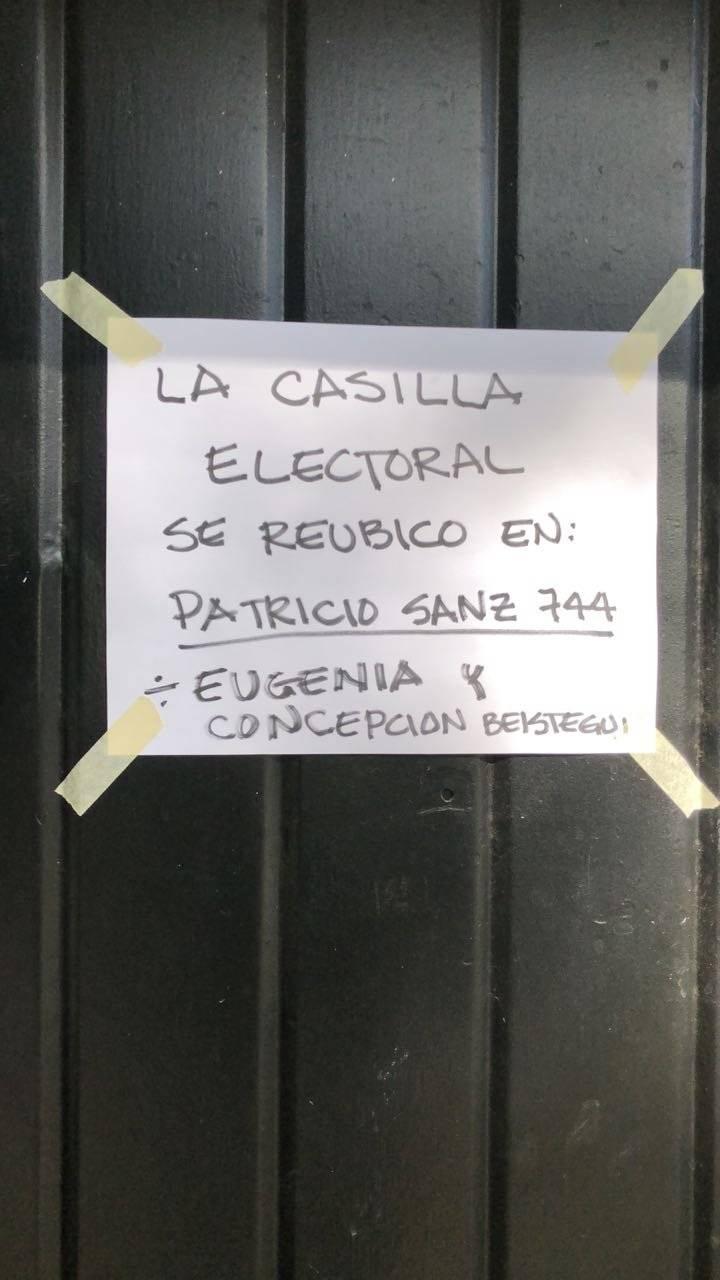 Casilla de providencia 821