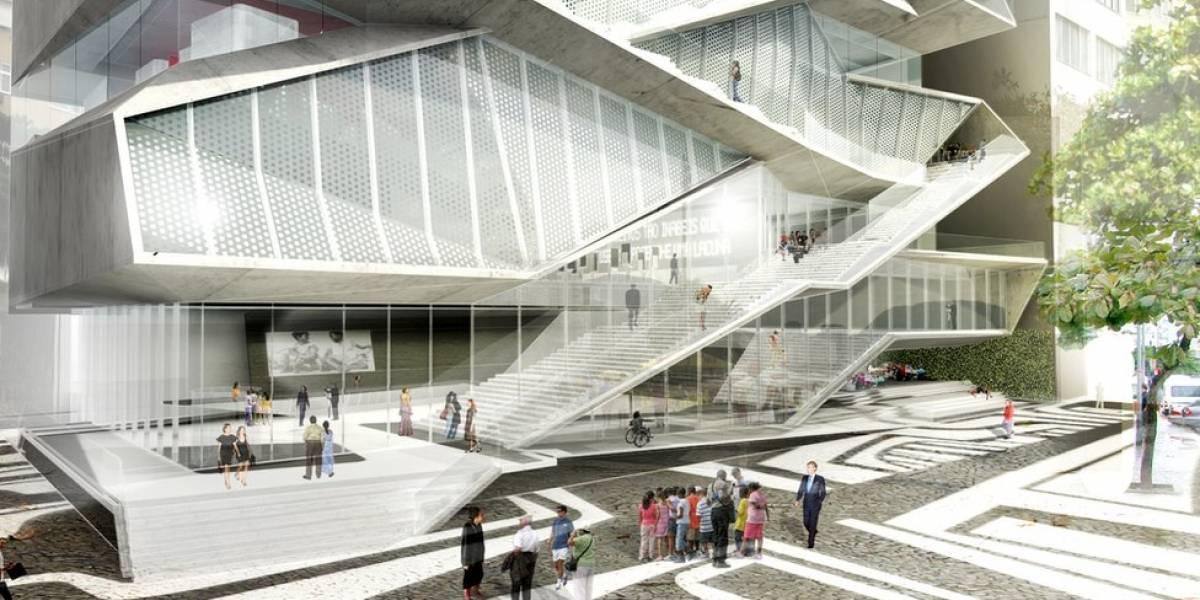 """Museu para a Copa, Olimpíada ou quando? A obra """"elefante branco"""" que está parada há mais de dois anos no Rio"""