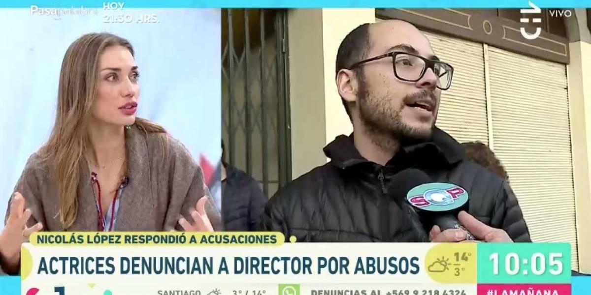 """De Moras se llena de críticas por asegurar que Nicolás López """"es de talla subida de tono"""" y """"que se puede mal entender"""""""