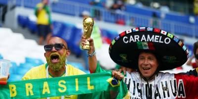 torcida mexico brasil