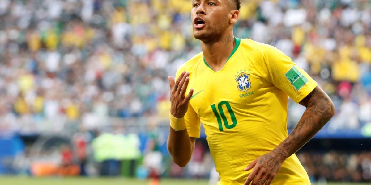 Brasil vence o México e está nas quartas de final