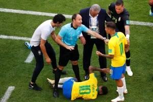 Neymar machucado seleção brasileira