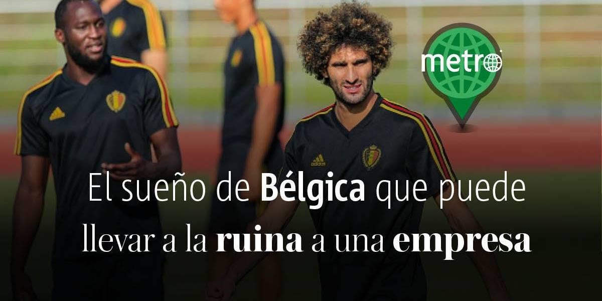 Cadena minorista belga se podría ir a la ruina con los goles de Bélgica en el Mundial Rusia 2018