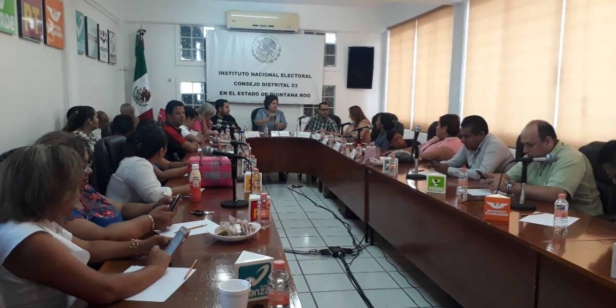 Acusan irregularidades en casillas de Quintana Roo