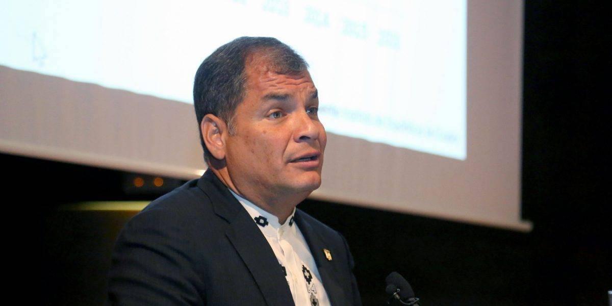 Rafael Correa reaccionó ante la clasificación de Bélgica a semifinales del Mundial Rusia 2018