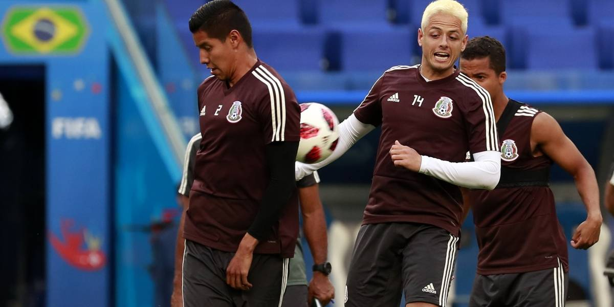 ¿Por qué Chicharito y Layún se pintaron el cabello?
