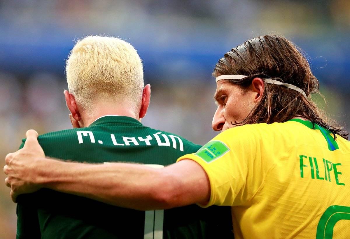 ¿Por qué Chicharito y Layún se pintaron el cabello? EFE
