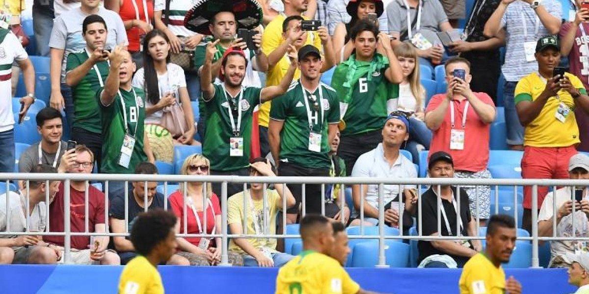 VIDEO. Aficionados intercambiaron insultos y algunos golpes durante el partido