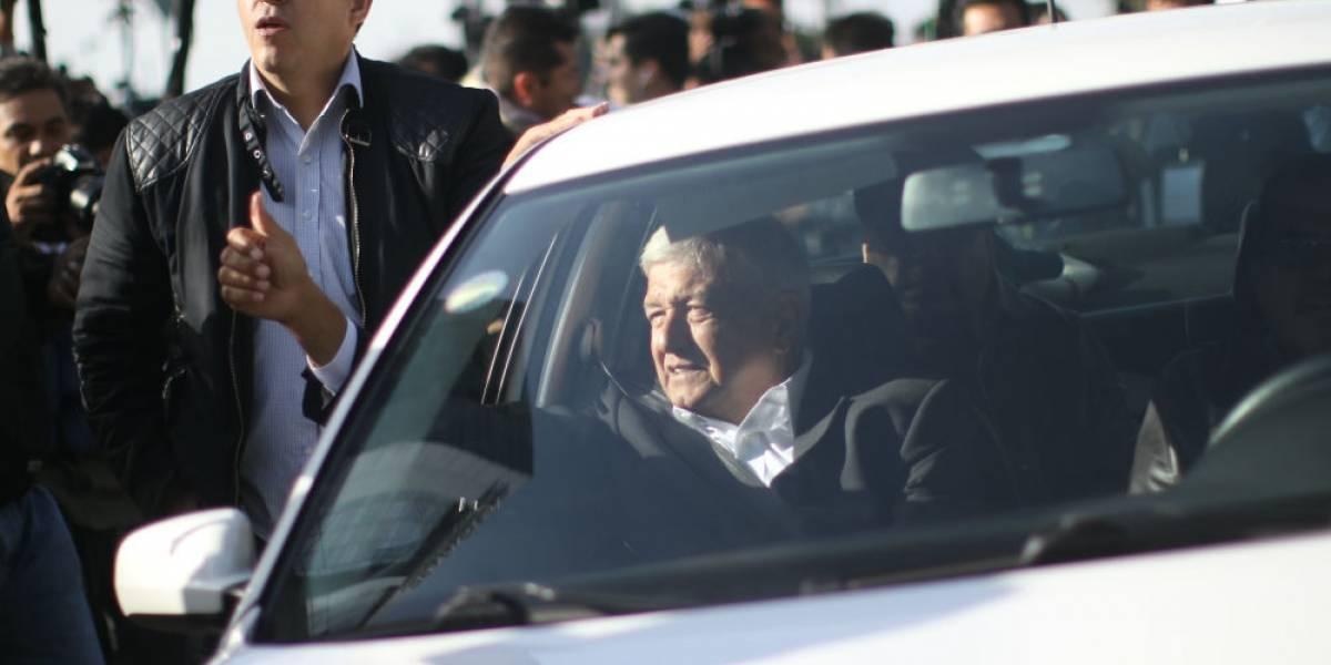 El Jetta de Andrés Manuel López Obrador