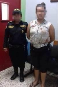 Mujer capturada por querer cortarle miembro a su pareja