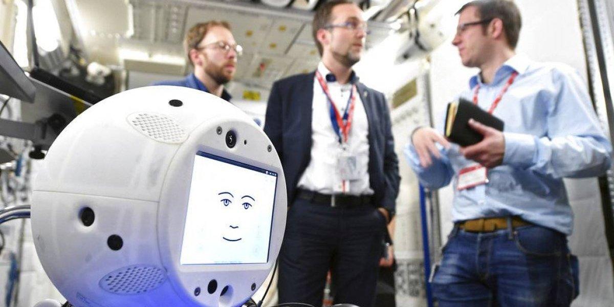 Llevan helado, ratones y un robot a la Estación Espacial Internacional