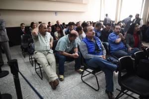 audiencia de ofrecimiento de pruebas del caso La Línea