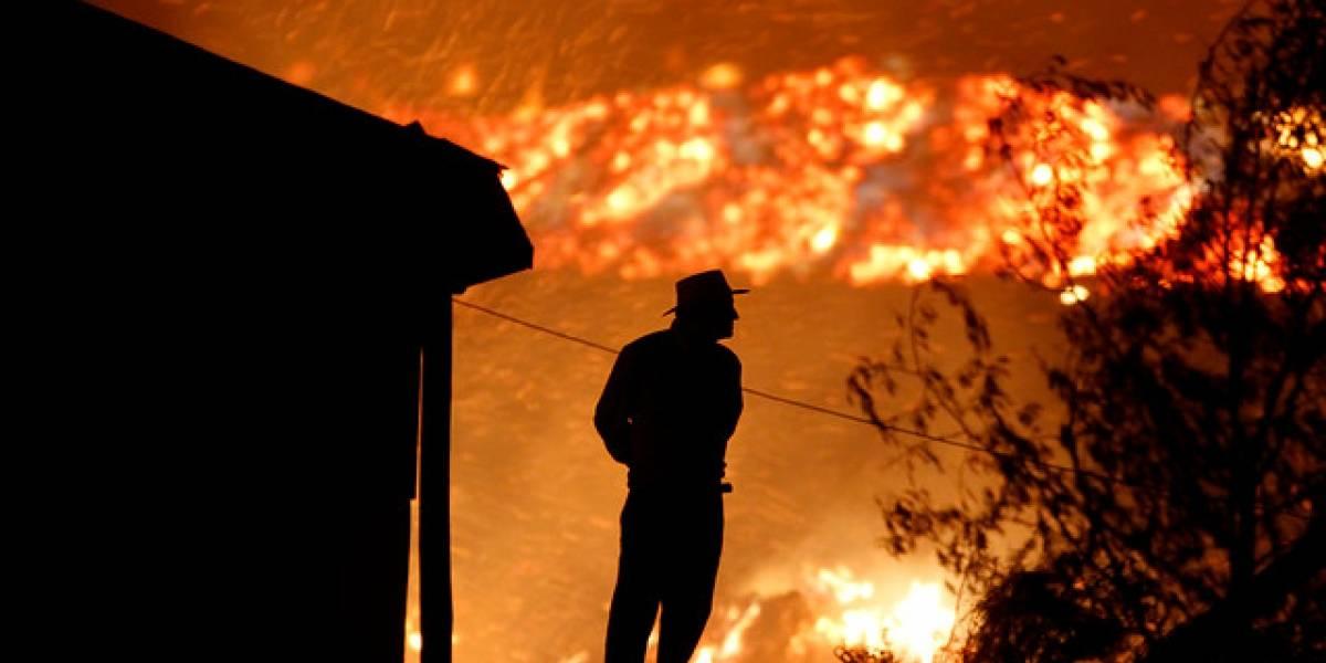 Matrimonio muere calcinado en incendio en Quilicura